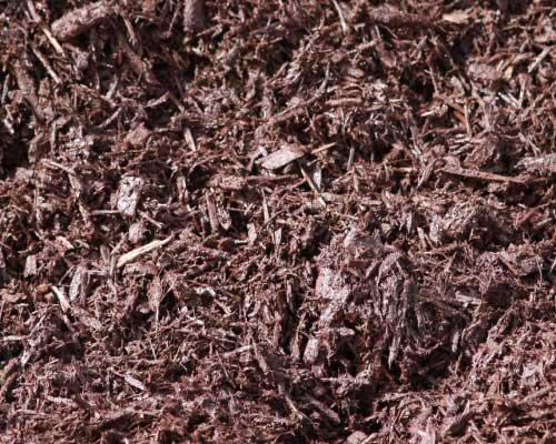 Dyed Chocolate Brown Mulch