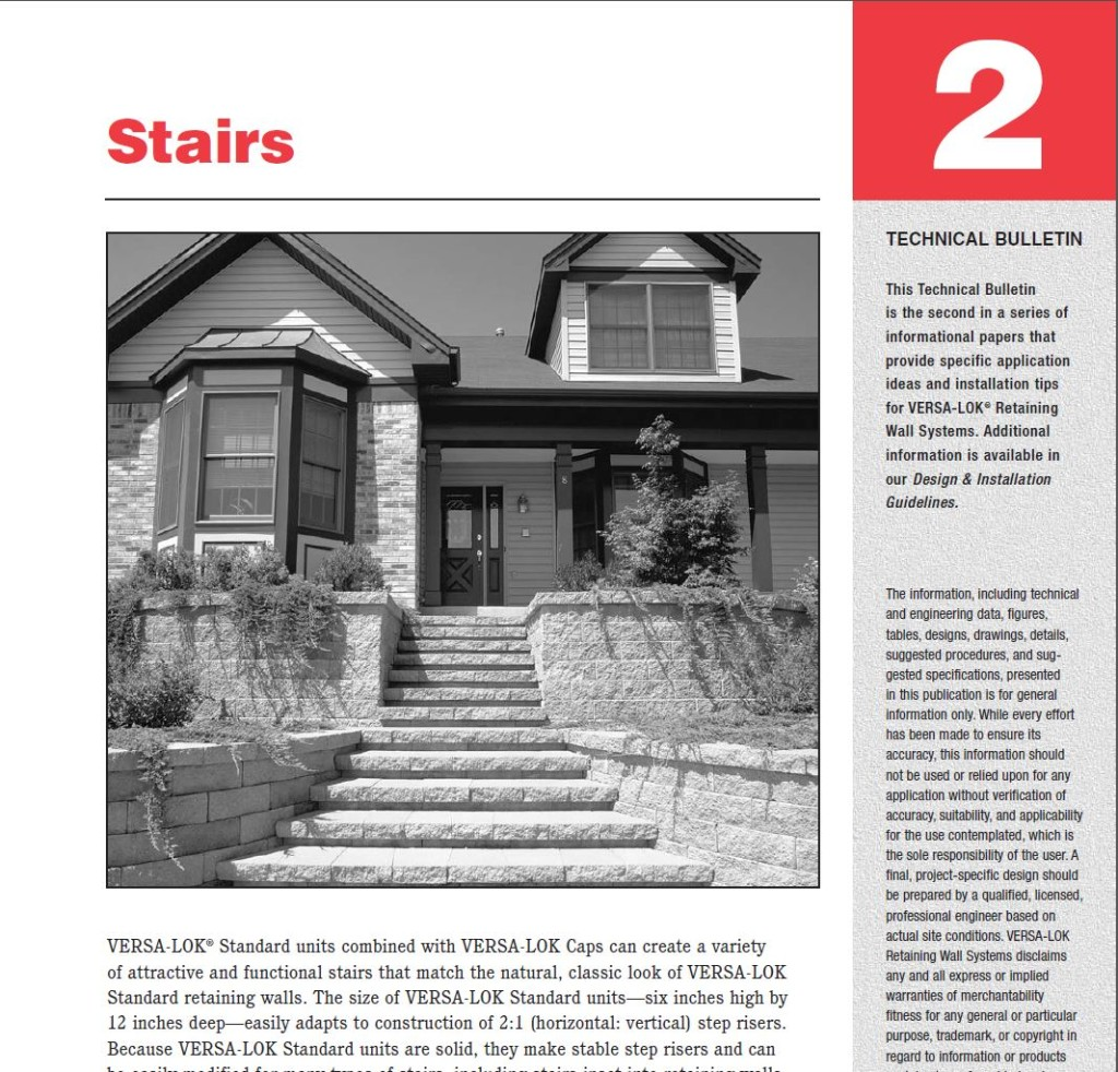 Stairs Tech Bulletin